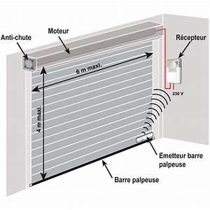 Recepteur radio somfy rollixo rts pour porte de garage for Porte de garage enroulable somfy