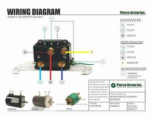 Diagram Wiring Winch For Reversible