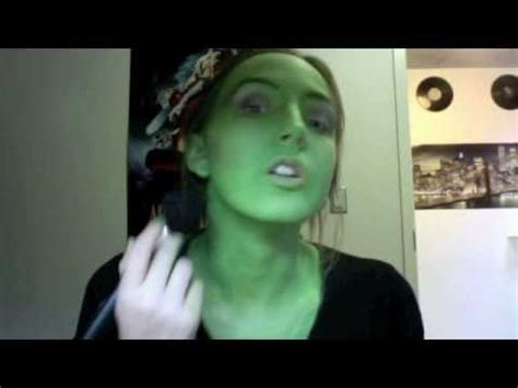 elphaba makeup tutorial youtube