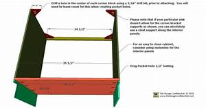 Free Woodworking Plans To Build An Under Sink Base Cabinet