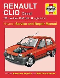 Renault Clio Diesel 1991 1996 Haynes Service Repair Manual
