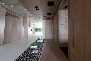 Modern, Zen, Moscow, Apartment, With, An, Indoor, Garden