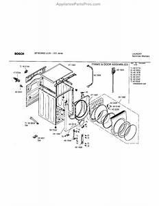 32 Bosch Nexxt Washer Parts Diagram