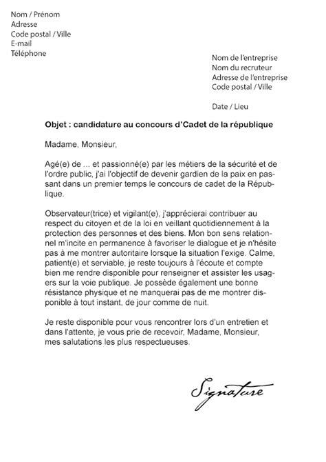 lettre de motivation aide cuisine modele lettre de motivation nationale document