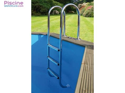 201 chelle piscine int 233 rieure inox ubbink 3 marches
