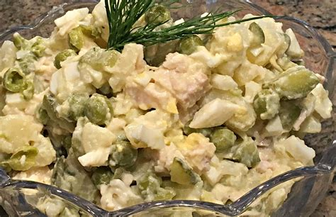 olivier cuisine salad olivier foods