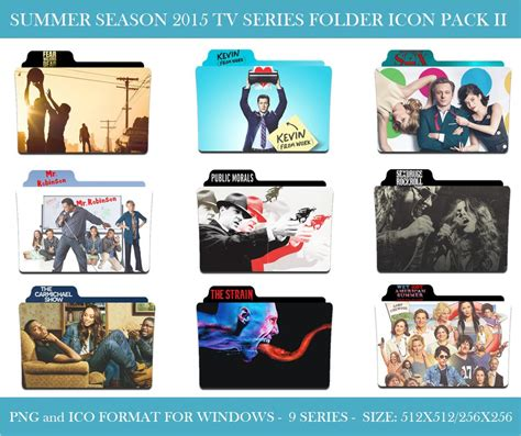 Folder Icon Anime Summer 2015 2015 Summer Season Tv Series Folder Icon Pack Ii By
