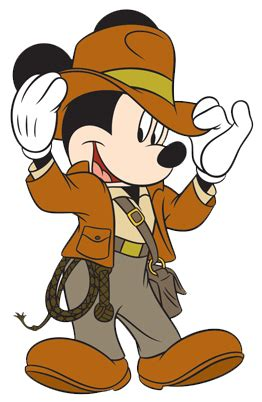 Indiana Jones Clipart by Mickey Mouse Clipart Indiana Jones Pencil And In Color