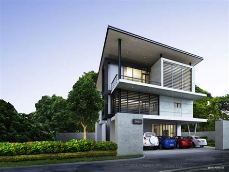 Unique Modern House Plans Modern Two Story House, Modern