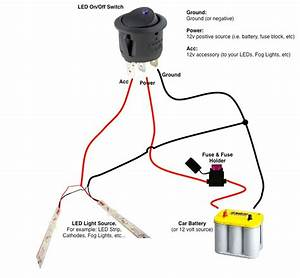 Black Red Green 12v Led Light Wiring Diagram Wire