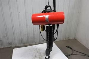 Cm Lodestar Rr2 2 Ton Electric Chain Hoist 2 Speed 5  16