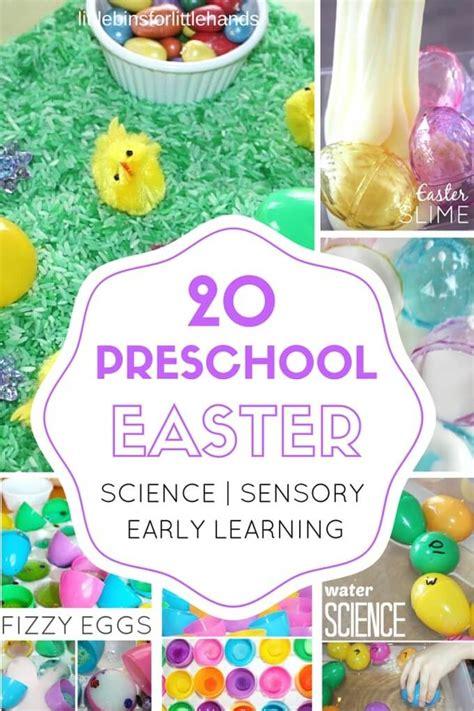 preschool easter activities science stem and sensory play 936 | Preschool Eater activities for science sensory math fine motor kids 680x1020