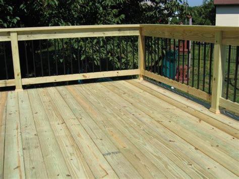 decking pressure treated wood top notch general