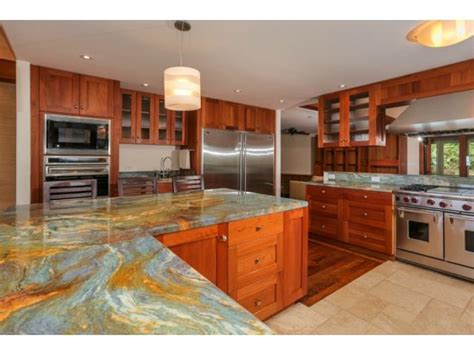 mahogany kitchen island kaneohe bay serene tropical retreat offers ideal island 3962