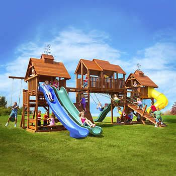 Big Backyard Play Equipment by Backyard Play
