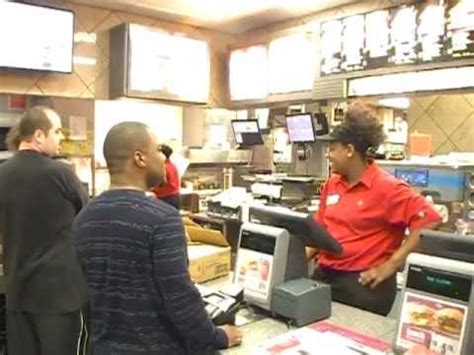 Mcdonalds Excellent Customer Service Youtube