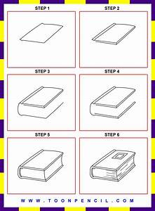 how to draw a book step by step for kids - Google Search ...