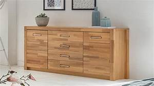 Sideboard Wildeiche Massiv Geölt : sideboard fenja in wildeiche massiv ge lt und furniert ~ Watch28wear.com Haus und Dekorationen