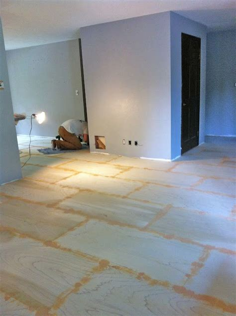 Roost Reimagined: DIY plywood flooring cheap alternative