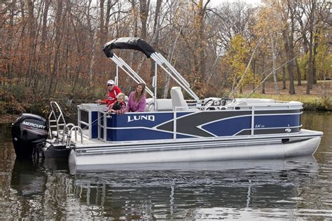 Lund Pontoon Boats by 2017 New Lund Lx220 Pontoon Boat For Sale Coldwater Mi