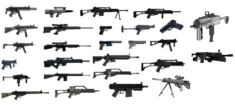Gun Weapon Guns Weapons Military Machine Gun Assault Rifle