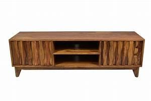 Retro Tv Board : sideboard retro tv board plasma massivholz mid century 150 sheesham m bel wohnen ~ Indierocktalk.com Haus und Dekorationen