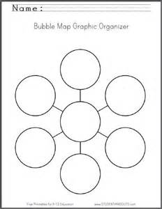 Bubble Graphic Organizer Template