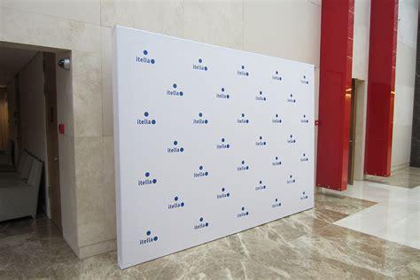 Баннерные конструкции Presswall (ПрессВолл)  Brand Wall