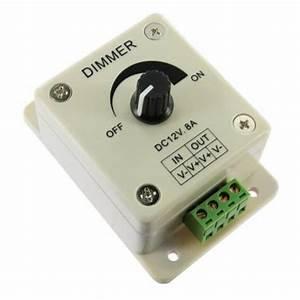 Variateur De Lumiere Led : variateur d 39 intensit rotatif pour ampoule dimma led 12v ~ Dailycaller-alerts.com Idées de Décoration