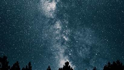 Sky Night Space Star Mountain Nature 1600
