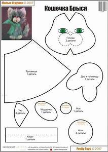 stuffed animal templates free - 20 best images about kitty cat on pinterest