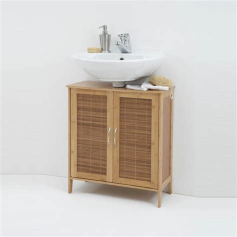 Badezimmer Unterschrank Bambus by Waschbeckenunterschrank Aus Bambus