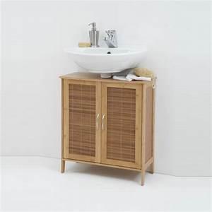 Bad Unterschrank Bambus : badezimmer unterschrank bambus raum und m beldesign inspiration ~ Indierocktalk.com Haus und Dekorationen