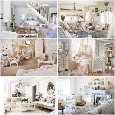 ideas  create  shabby chic interior design