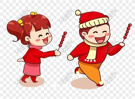 gambar kartun anak laki laki dan perempuan