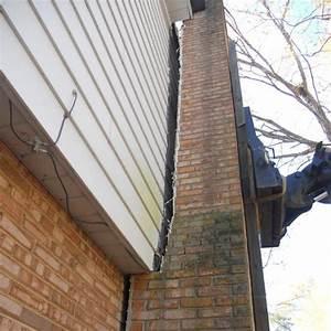 Leaning Chimney Foundation Repair