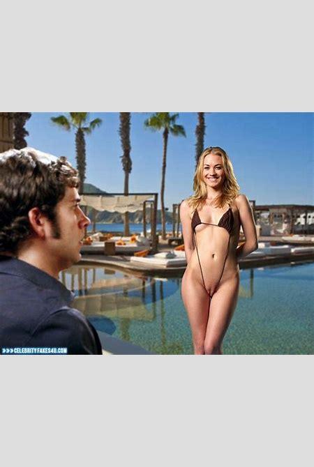Yvonne Strahovski Camel Toe Chuck Tv Series Porn Fake 001 « CelebrityFakes4u.com