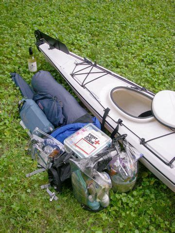 Kayak Trip Packing for Camping