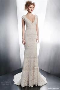 gemy maalouf 2015 wedding dresses part 1 wedding inspirasi With sheath style wedding dress