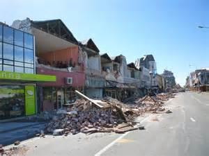 Christchurch New Zealand Earthquake