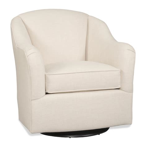 sam armand casual swivel glider with arms