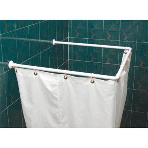 u shaped shower curtain rods decor ideasdecor ideas