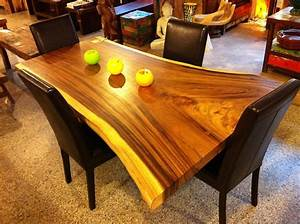 Table En Acacia : table cuisine bois acacia ~ Teatrodelosmanantiales.com Idées de Décoration