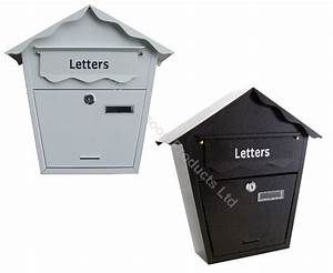 black white outdoor post box mail lock lockable letter With letter lock box