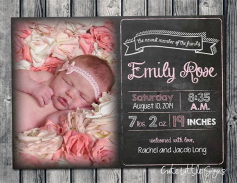 Birth Announcement Template Free by 9 Birth Announcement Templates Printable Psd Ai Format