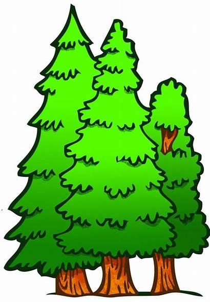 Clipart Clip Forest Park Trees Cliparts Ranger