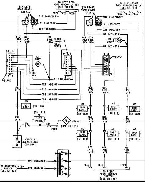 2000 jeep grand radio wiring diagram teamninjaz me