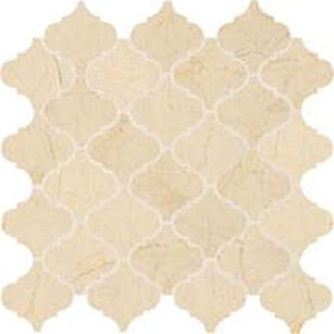 daltile stone mosaic crema marfil classico baroque