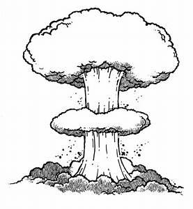 Atom Bomb Explosion Drawing   www.pixshark.com - Images ...