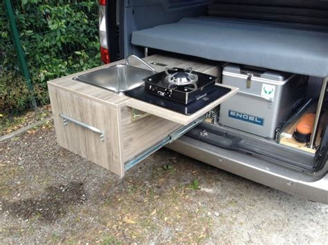 cuisine amenagee 17 best images about camion on space saving